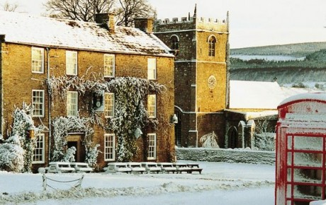 Rose and crown, romaldkirk, great inns, places for new year, places for Christmas