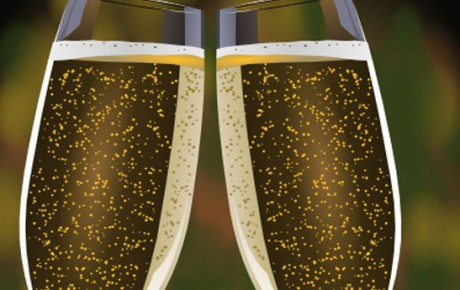 Celebrate with bubbles at The Castle Hotel